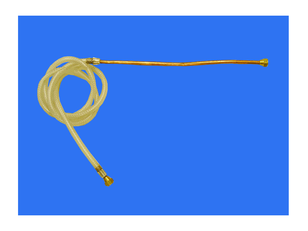 Denek manguera gas con tubo cobre para estufa 5 16 ter - Tubo de cobre para gas ...