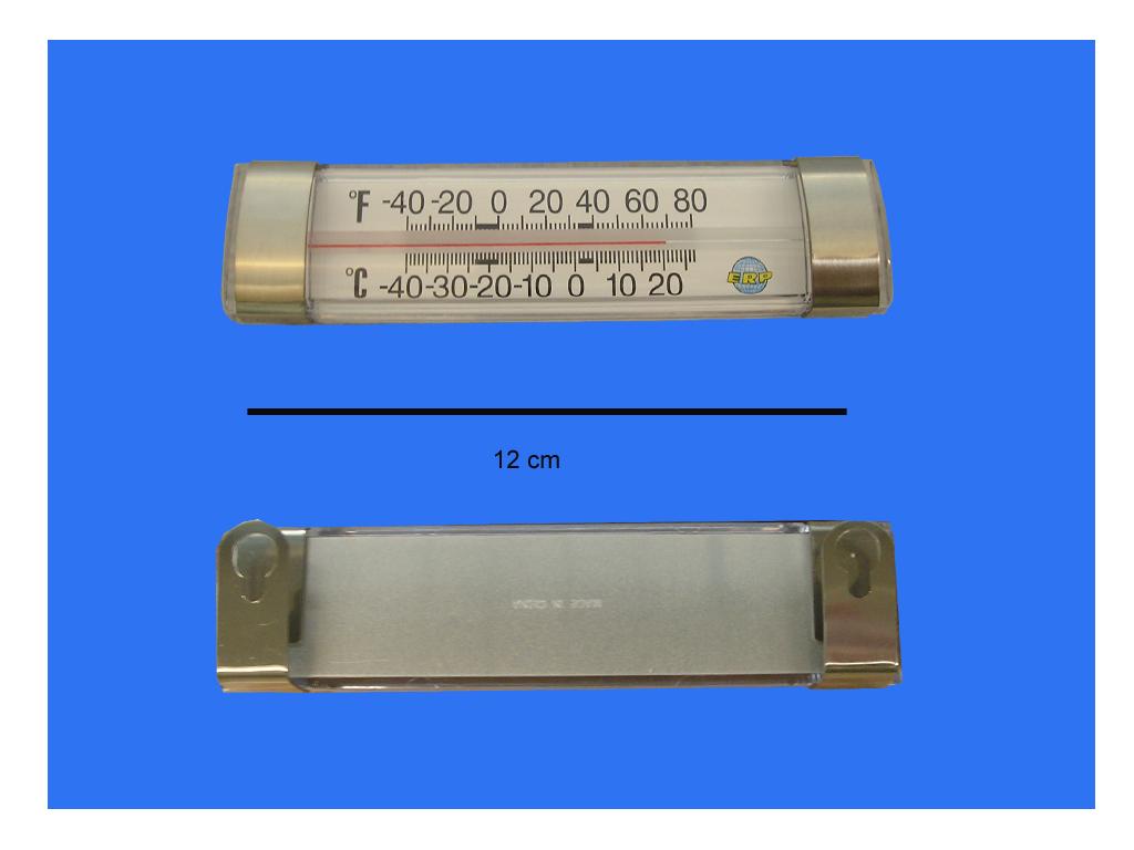 Termometro horizontal para refrigeracion pro pictures - Termometro de pared ...